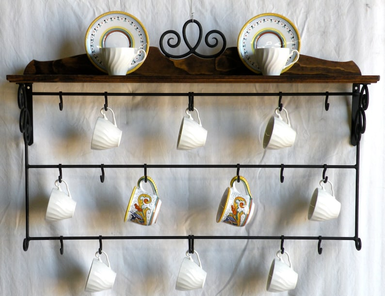 Cup Rack/Shelf Kitchen Decor Stores & Displays Your Collection in Style