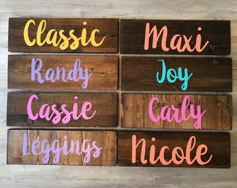 Style Signs - Price Signs - Fashion Product Signs - Unicorn Signs