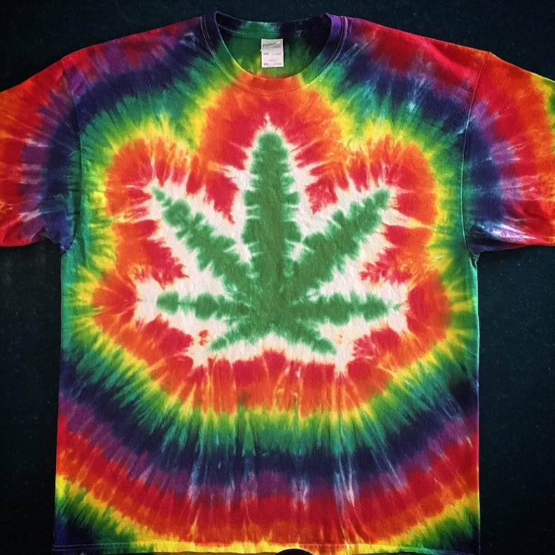 Pot leaf marijuana cannibus Tie Dye T-Shirt Tye Die FREE SHIPPING You choose  col... Pot leaf marijuana cannibus Tie Dye T-Shirt Tye Die FREE SHIPPING You  ... fdcf2831c