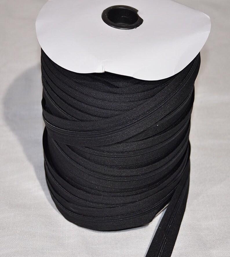 FREE SHIPPING. Zipper #5 Black 200 yards200 Slides