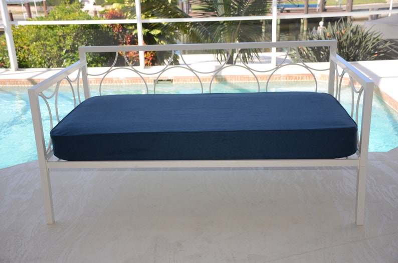 Daybed Tailored Fitted Cover twin COMPLETE SET. Lepap Navy ...