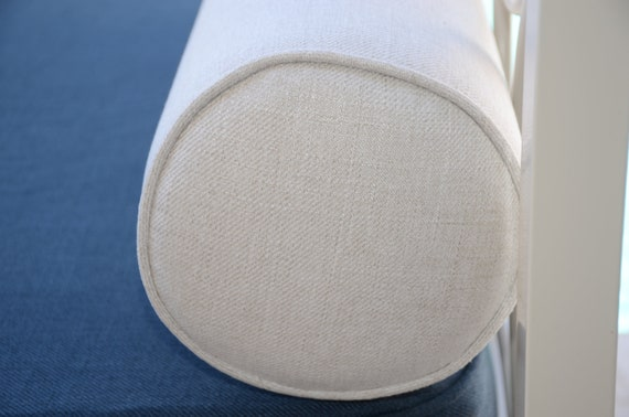 Round Bolster Pillow Cover. 8 Round X