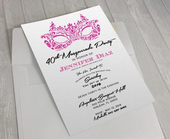 Masquerade party invitation sweet 16 invite quinceanera etsy image 0 filmwisefo