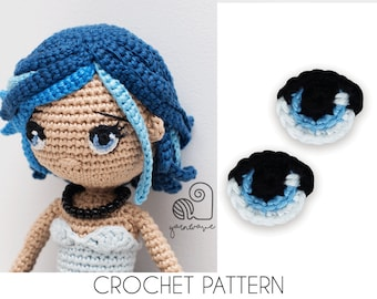 How to Embroider Almost Perfect Amigurumi Eyes | Crochet Arcade | 270x340