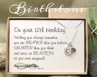 12th Birthday Gift Birthday Gift NW003