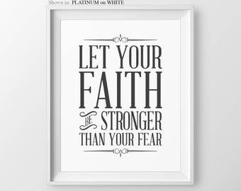 Inspirational Print, Faith Quote, Inspirational Saying, Faith Saying, Family Home Decor, Inspirational Wisdom, House Rules, Faith Wall Art