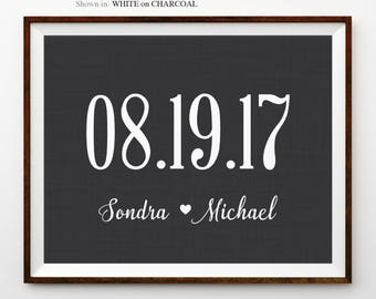 Personalized 1st Wedding Paper Anniversary Gift For Couples Wedding Anniversary Gifts For Her 1 Year Anniversary Gifts For Husband