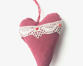 Heart hanging - Christmas decoration