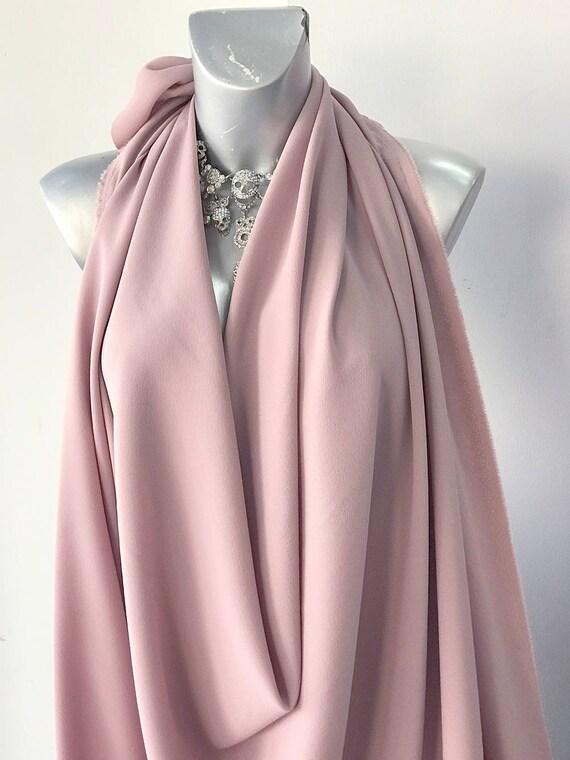 colori delicati fascino dei costi davvero comodo Rosa cipria elasticizzato tessuto crepe 2 vie in crepe | Etsy