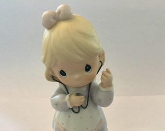 Precious Moment doll Always Listen To Your Heart