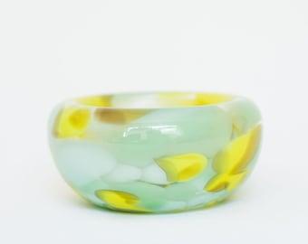 Glass Blown Sprite Nest Bowl