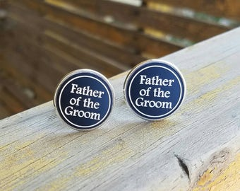 cufflinks Father of the groom Cufflinks custom Wedding Cufflinks groom cufflink grooms cufflinks best man cufflinks groomsmen cufflinks cuff