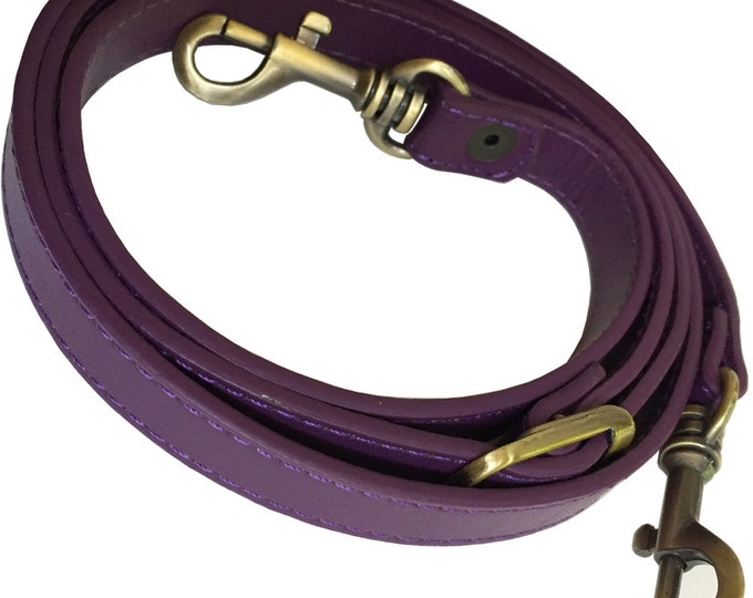 "Featured listing image: 5/8"" Wide Purple Replacement Adjustable Cross Body Purse Strap Shoulder Handbag Bag Wallet Clutch Messenger"