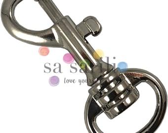 "20 pcs - 5/8"" Swivel Snap Lobster Claw Hook Clip Handbag Purse Strap Leash Lanyard 5/8 inch (Nickel/Silver, Brass/Gold, Antique Brass/Gold)"