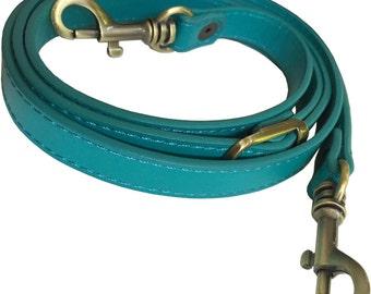 "5/8"" Wide Teal Green Replacement Adjustable Cross Body Purse Strap Shoulder Handbag Bag Wallet Clutch Messenger"