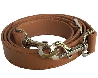 "1"" Wide Camel Purse Strap Adjustable Cross Body Shoulder Replacement Handbag Bag Wallet Handle"