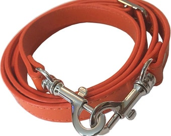 "5/8"" Wide Orange Adjustable Replacement Cross Body Purse Strap for Handbag Bag Wallet"