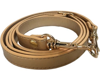 "5/8"" Wide Gold Purse Strap Adjustable Cross Body Shoulder Replacement Handbag Bag Wallet Handle"