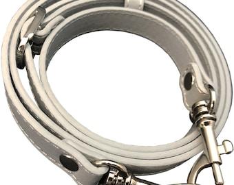 "5/8"" Wide Grey Replacement Adjustable Cross Body Purse Strap Shoulder Handbag Bag Wallet Clutch Messenger"