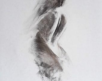 Articles Similaires à Figure De Femme Dessin Femme Nue Noir