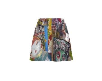 Graffiti Skater Skirt