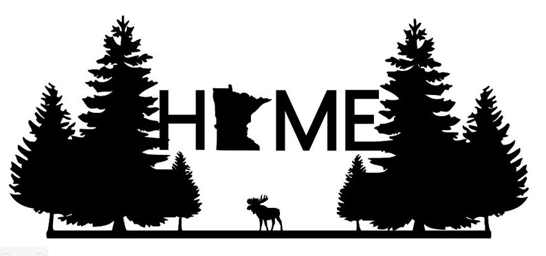 Minnesota Home Decal