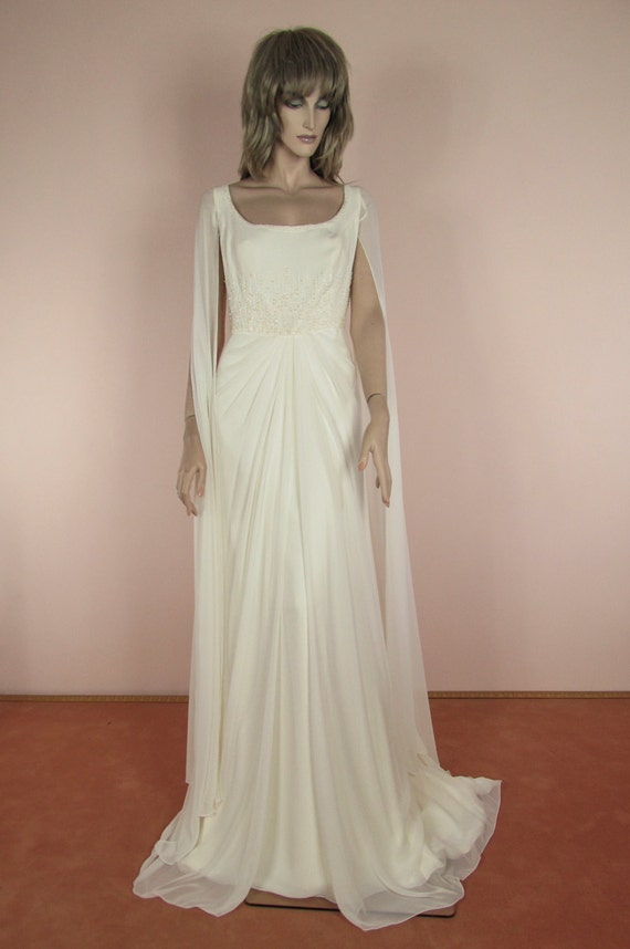 90\'s Vintage Wedding Dress Vintage Empire style | Etsy