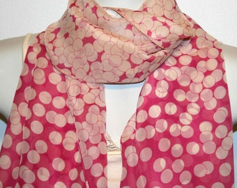 Womens Scarf, Red Scarf, Chiffon Scarf, Voile Scarf, Cotton Scarf, Fashion Scarf, Shawl, Womans Scarf