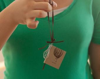 Miniature Cookbook Ornament