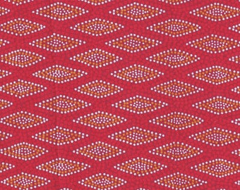 100% Cotton Quilting Fabric - Australian - WIGARUP  - sold by 1/4 metre or Fat Quarter