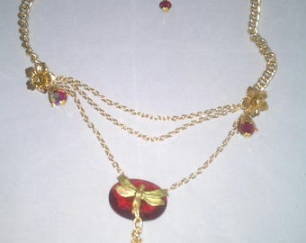 art deco (naida) necklace