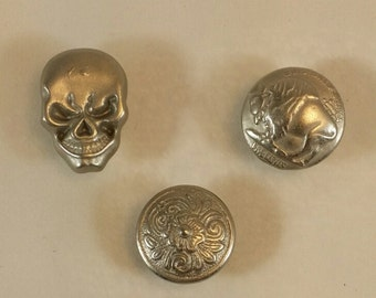 Set of 4 Speciality Snap End Pieces: Must be an add on item to vest extender order