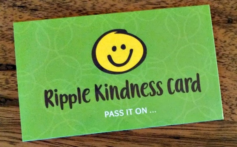 Ripple Kindness Cards  Adult and Children's Pay It image 0