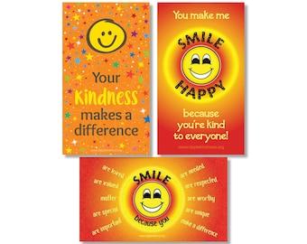 Happy Smiley Face Magnets - Fridge Magnets, Kid's Magnets, Encouragement, Reward for Kids, Student Gifts