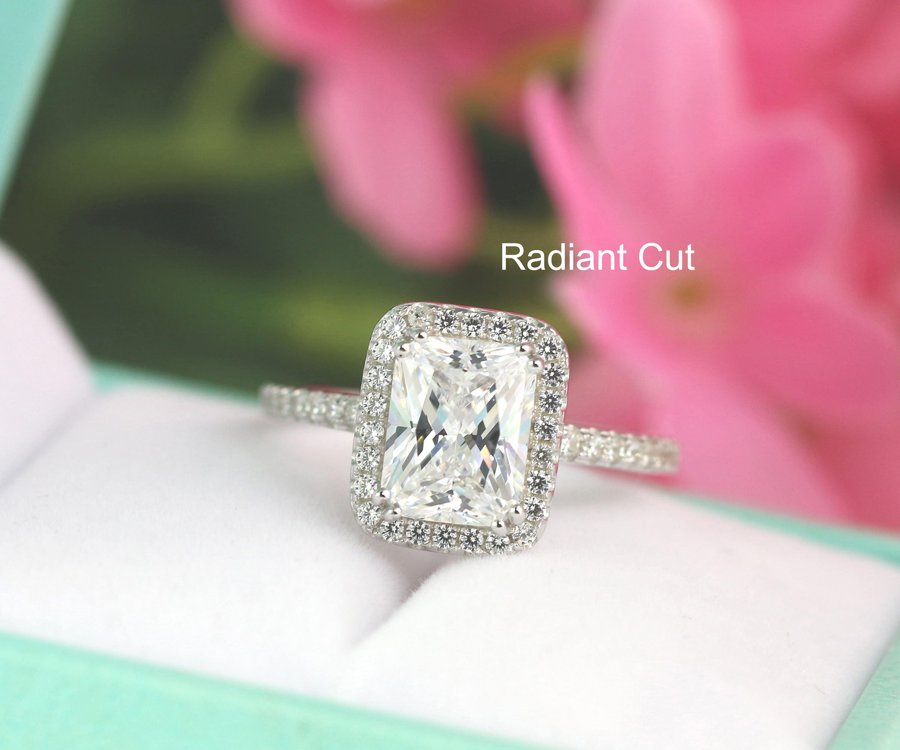 gold ara rings carat engagement white diamonds ring cut diamond radiant shop