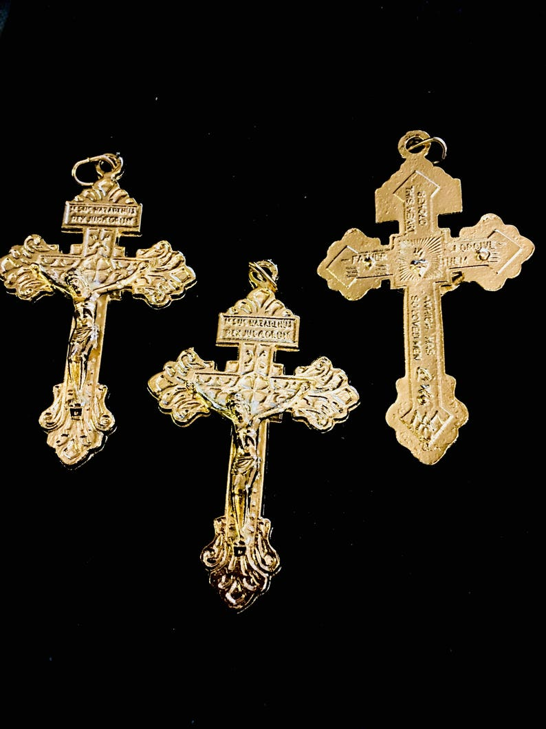 4 Inc Ornate Olive Wood Gifts Catholic St Anthony Key Chain