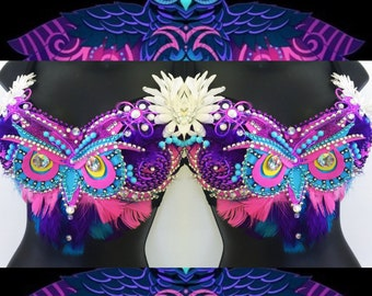 12d5640026dd3 Electric Owl Bra (LED lights)  rave wear