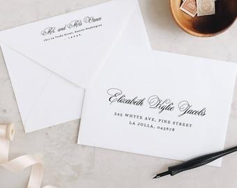 wedding envelope etsy