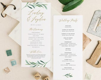 greenery wedding etsy