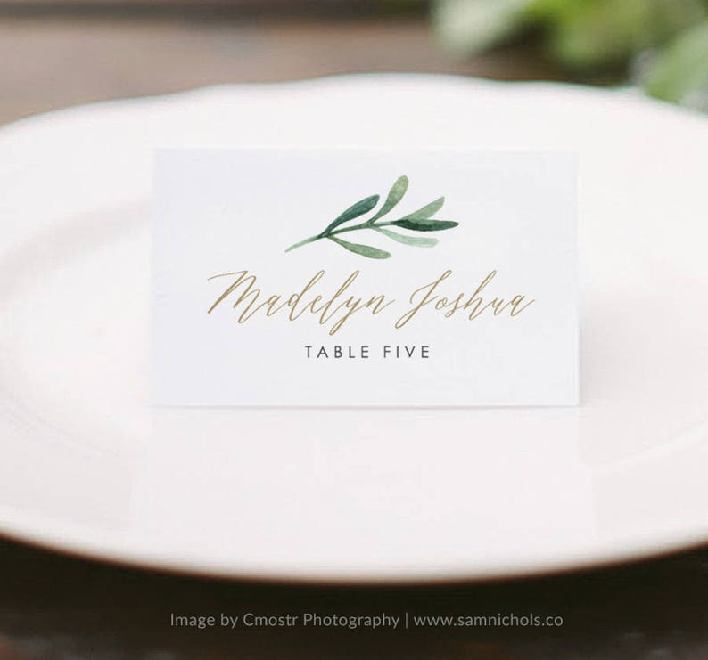 image regarding Printable Place Cards known as Greenery Issue Card Template, Printable Space Playing cards, Marriage Spot Playing cards, Status Playing cards, Escort Playing cards Edit in just Phrase or Web pages