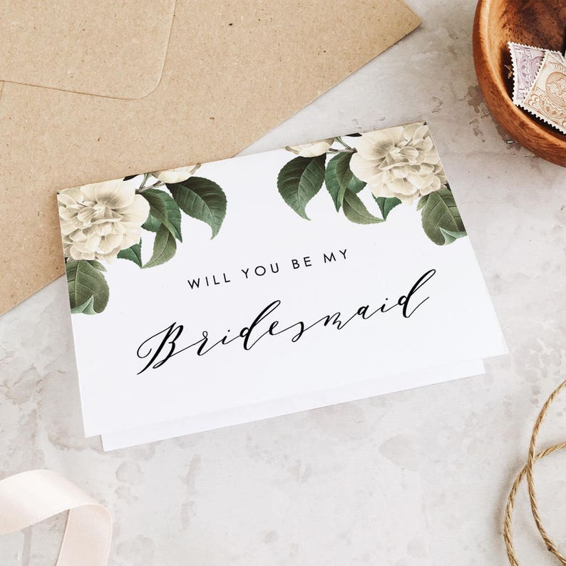 photo regarding Printable Bridesmaid Cards identify Will yourself be my Bridesmaid Card, Printable Bridesmaid Card, Marriage ceremony Working day Playing cards, I cant say I do Editable inside of Term and Web pages