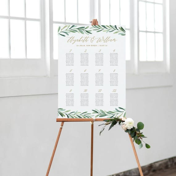 template for wedding table plan