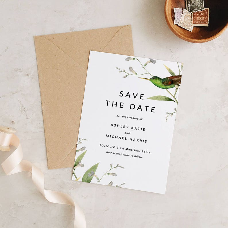 graphic relating to Printable Save the Dates titled Greenery Preserve The Dates Template, Printable Help save the Day, Conserve Our Day  Edit inside Phrase or Web pages