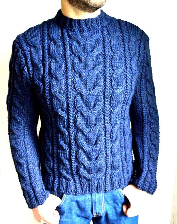 beliebte Geschäfte groß auswahl zuverlässigste Handgestrickte Pullover Herren