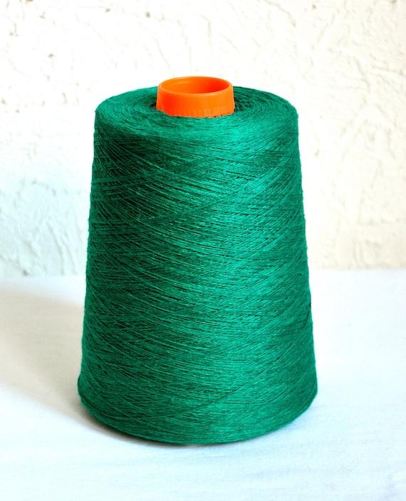 100/% natural linen yarns 1 lb 1,6 oz 500 grams cone