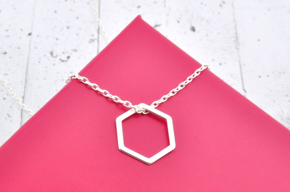 Cadena 85cm con colgante de oro plateado Reino Unido-Verde hoja Colgante Collar