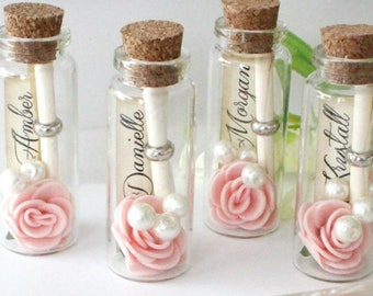 Will you be my bridesmaid - message in a bottle- Bridesmaid cute ideas