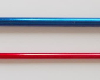 Knooking-needle-set, 4,00 and 6,00mm, addi
