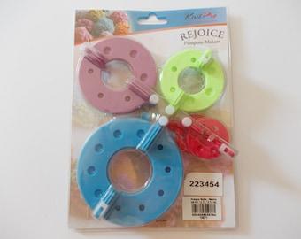 Pompom makers set, Knit Pro