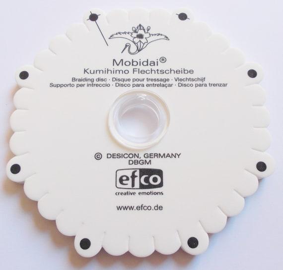 Kumihimo braiding disk Mobidai weave template | Etsy